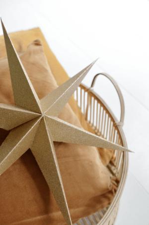 delight department kerstster goud